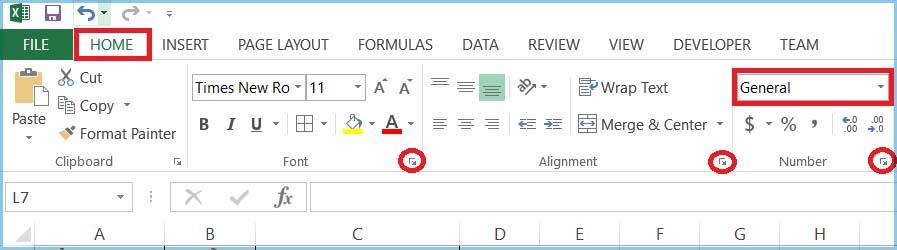 Hình ảnh 12: Custom Format Excel 2013