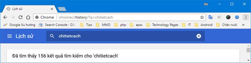 Hình ảnh 10: Thủ thuật Chrome