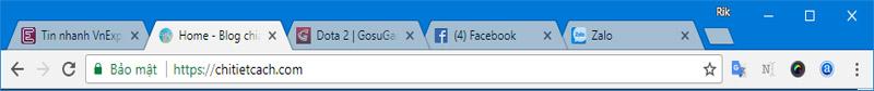 Hình ảnh 2: Thủ thuật Chrome