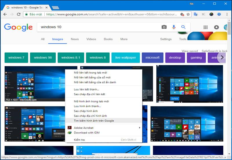 Hình ảnh 3: Thủ thuật Chrome