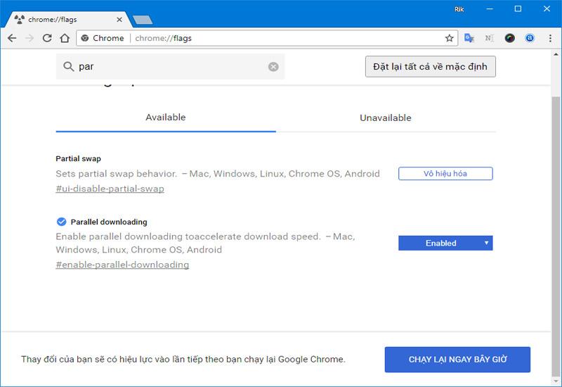 Hình ảnh 9: Thủ thuật Chrome