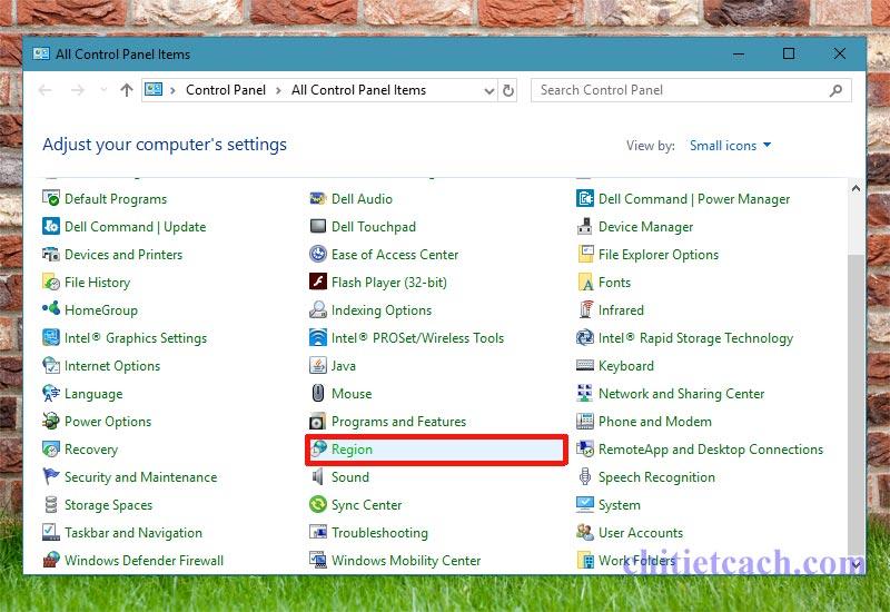 Hình ảnh 2: Định dạng thời gian Windows