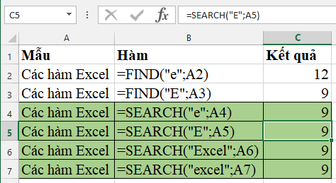 ham-search-excel