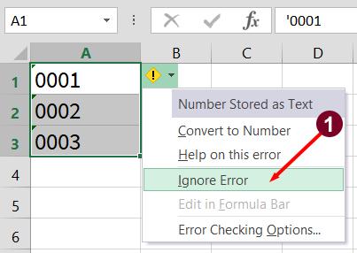 tổng hợp các cách thêm số 0 vào trước chuỗi trong microsoft excel