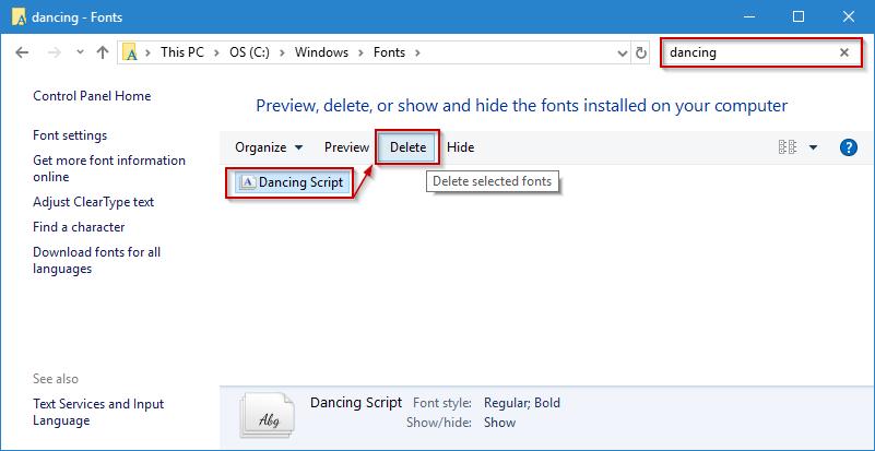 install-google-fonts-windows
