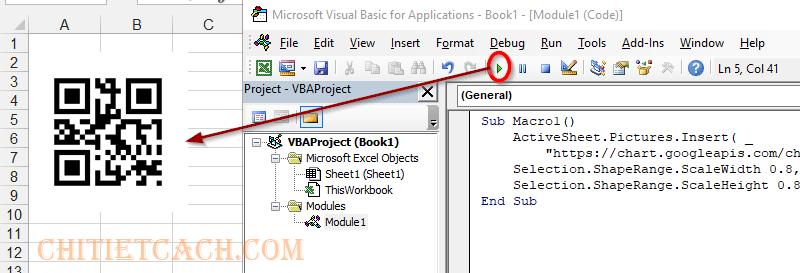 QR Code VBA Excel