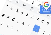 Bàn phím Gboard Android